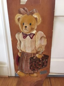 suitcase teddy bear